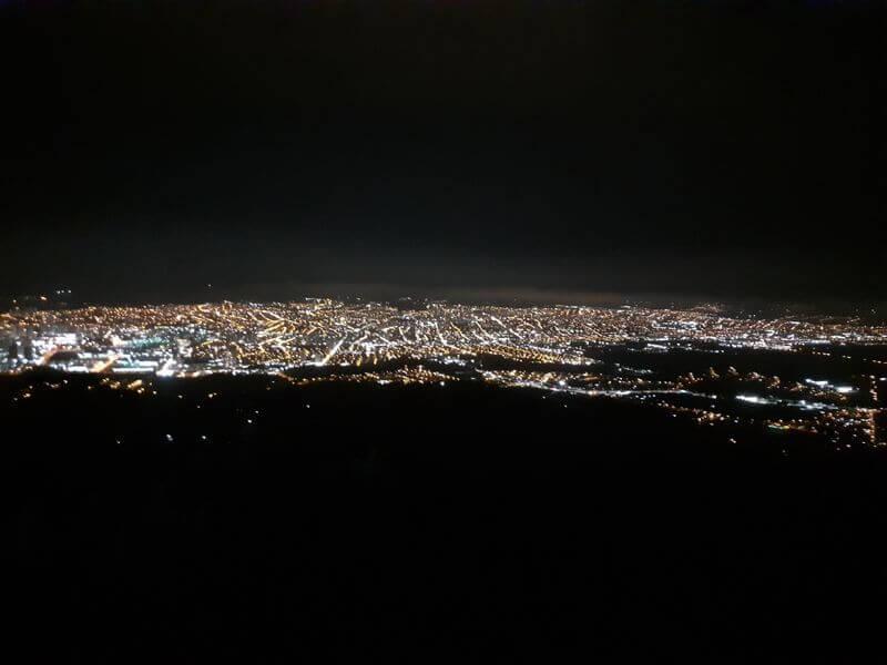 Pico do Urubu de Noite